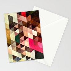 pyrty xyn Stationery Cards