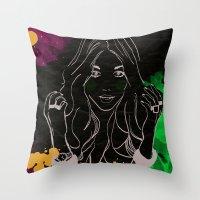 R U 4 Serious? Throw Pillow
