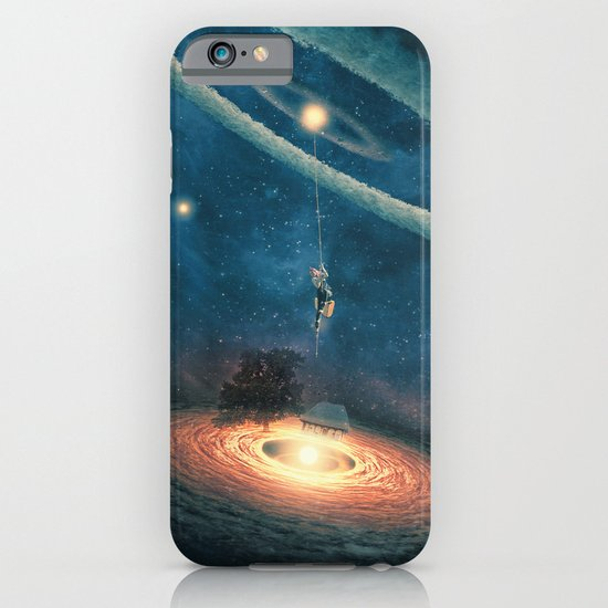 My dream house is in another galaxy iPhone & iPod Case