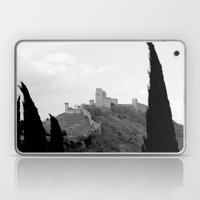 Assisi in the winter Laptop & iPad Skin