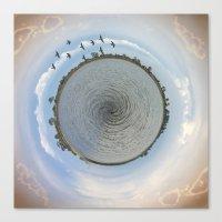 Lake Planet Canvas Print