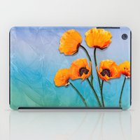 Oriental Poppies  iPad Case