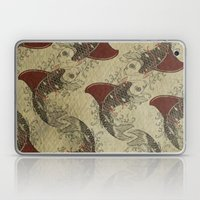 shark fin goldfish school Laptop & iPad Skin