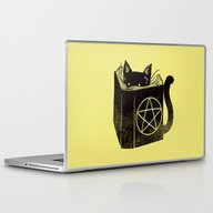 Laptop & iPad Skin featuring Witchcraft Cat by Tobe Fonseca