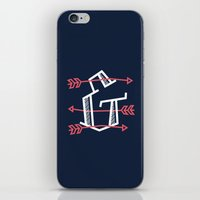 Ampersand with Arrows iPhone & iPod Skin