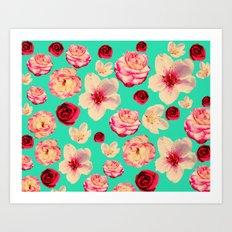 Sweet flower Blast! Art Print
