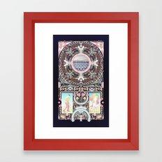 Nothing if not Something. Framed Art Print