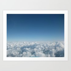Fluffy Clouds II Art Print