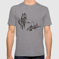 'Excessmas - Part 2' Mens Fitted Tee Athletic Grey SMALL