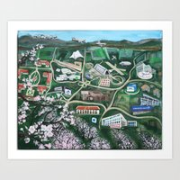Silicon Valley Through The Ages Art Print