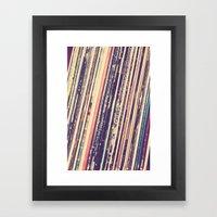 Music Is Love Framed Art Print