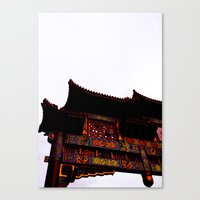 Bridge Over Chinatown  Canvas Print