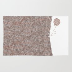 Knitting experience Rug