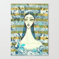 Flowerella 2 Canvas Print