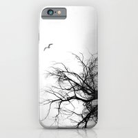 iPhone & iPod Case featuring Tree in Fog by Loaded Light Photography