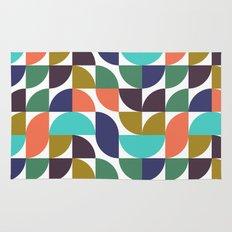 mod geo pattern Rug