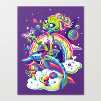 Rainbow Apocalypse Canvas Print