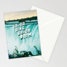Ba-da Bing, Ba-da Boom. Stationery Cards