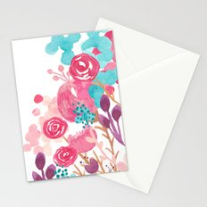 Blush Blossoms Stationery Cards