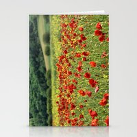 Poppies, Poppies, Poppies Stationery Cards