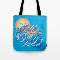The Lost Adventures of Captain Nemo Tote Bag