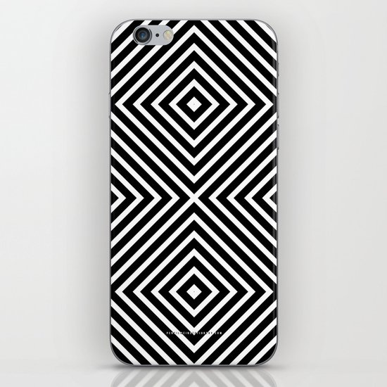 Chevron Diamond ///www.pencilmeinstationery.com iPhone & iPod Skin