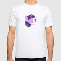 Twilight Sparkle Mens Fitted Tee Ash Grey SMALL