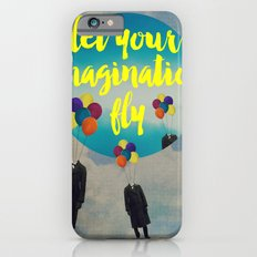 Vintage Quotes Collection -- Let Your Imagination Fly iPhone 6 Slim Case