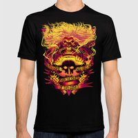 IMMORTAN JOE: THE ASHES OF THIS WORLD Mens Fitted Tee Black SMALL