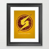 Samus Hero Framed Art Print