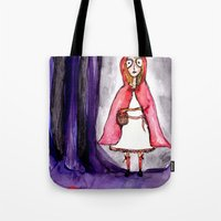 Little Red Ridding Hood Tote Bag