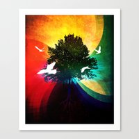 ETERNUS VINEA Canvas Print
