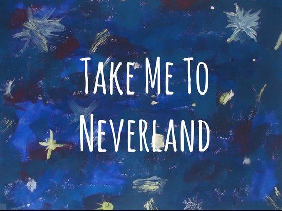 Take Me To Neverland | Galaxy Art Print