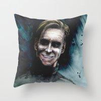 David 8 Throw Pillow
