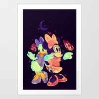 Viewtiful Expressions Art Print