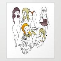 Fred. Art Print