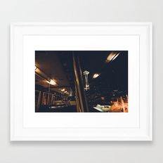 The Monorail Framed Art Print