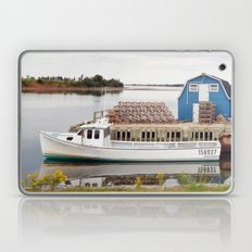 Lobster Boat and Traps Laptop & iPad Skin
