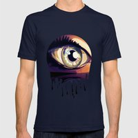eye Mens Fitted Tee Navy SMALL