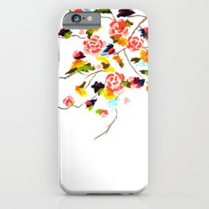 Floral Painting Slim Case iPhone 6s