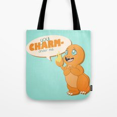 You CHARMander me Tote Bag