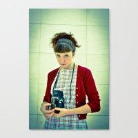 shot Canvas Print