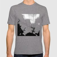 Page St San Francisco Mens Fitted Tee Tri-Grey SMALL