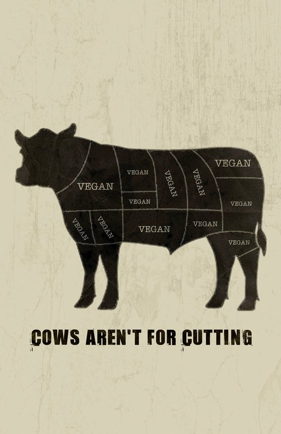 Vegan Cuts Art Print
