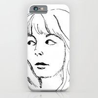 iPhone & iPod Case featuring That Look by Julianne Ess