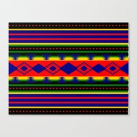 Aztec Summer Canvas Print