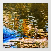 Reflection -abstract Canvas Print