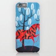 Smug Red Horse iPhone 6 Slim Case