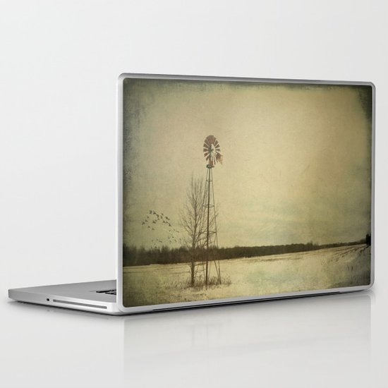While the wind moans a dirge to a coyote's cry... Laptop & iPad Skin