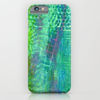 Textured Green And Pink iPhone 6 Slim Case